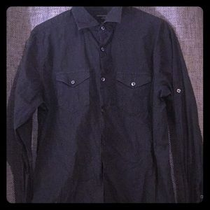 Long Sleeve Button Up Dress Shirt